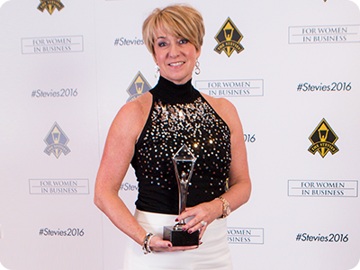 Concentrix Executive Wins Silver Stevie® for Women in Business