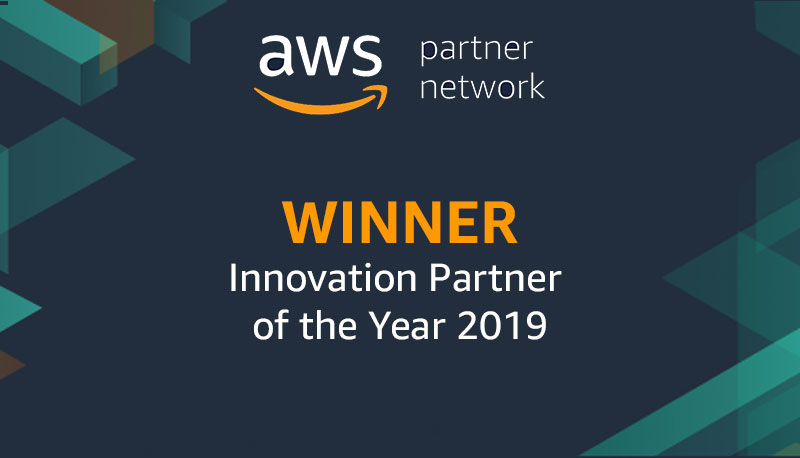 AWS Innovation Partner of the Year - 2019