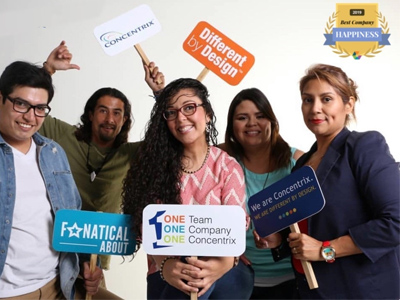 Comparably Award Recognizes Concentrix for Happiest Employees