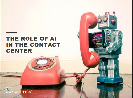 Role of AI in the Contact Center | Concentrix Thought Leadership