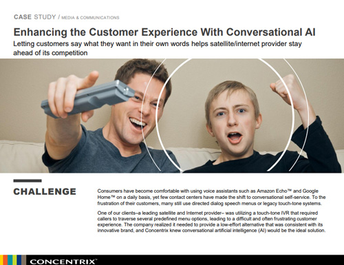Enhancing the Customer Experience With Conversational AI