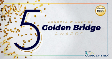 Innovation at Concentrix Shines Through with 5 Golden Bridge Awards
