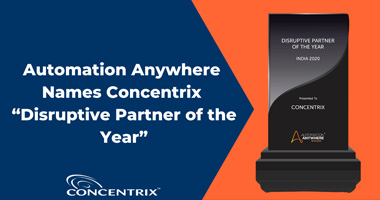 Concentrix Named Disruptive Partner of the Year