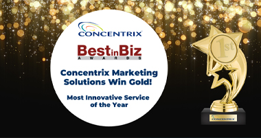 Concentrix Marketing Solution Wins Gold!