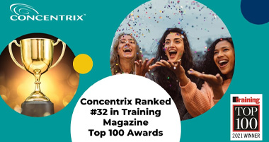 Training Magazine Recognizes Concentrix' Training and Development Excellence with the Top 100 Award