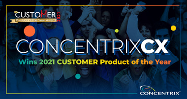 ConcentrixCX Wins CUSTOMER Product of the Year Award