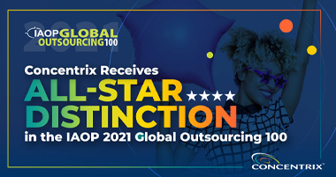 Concentrix Receives All-Star Distinction in the IAOP 2021 Global Outsourcing 100