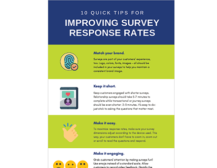 10 Quick Tips for Improving Survey Response Rates